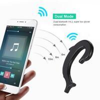 Ear-hook Wireless Bluetooth Bone Conduction Headphones Stereo Earphone Headset