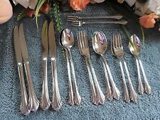 Oneida 18/8 USA Distinction Deluxe Stainless REMBRANDT 19pcs 2 Place Sets 3 Serv