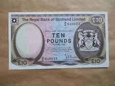 Royal Bank of Scotland £ 10 nota, 1974. AUNC / UNC.