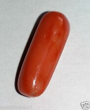 5.10 CT ORANGISH RED CORAL 100% Natural Certified Superb Quality Beautiful Gems