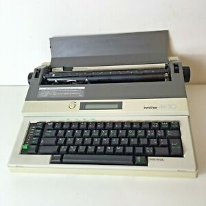 Brother AX-30 Electric Typewriter Tested & Fully Working Made in UK