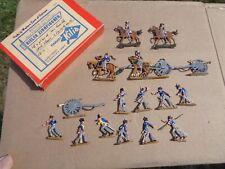 flats, Napoleonic British Artillery RHA & Foot  painted lot lead Zinnfiguren, JL