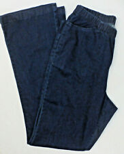 WOMAN WITHIN Plus Size Elastic Waist Jeans #1062, Blue, Size 18W Tall, NWOT