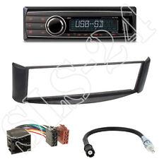 Caliber RMD212 Autoradio + Smart ForTwo(A/C450) Blende schwarz + ISO Adapter