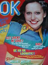 OK MAGAZINE 17TH JAN 1976 - HELLO - JOHN MILES