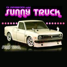 ABC Hobby NISSAN Sunny Truck 162mm Body Set 1:10 M-Chassis RC Car Gambado #66042