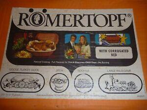 ROMERTOPF NATURAL COOKING