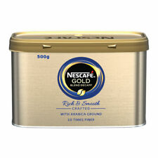 Nescafe Gold Blend Decaffeinated Instant Coffee 500g DECAFF Food Drink Supplies