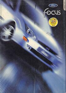 AUTOFOLDER / BROCHURE FORD FOCUS 1998