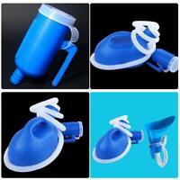 2L tragbare Urinalflasche männlich weiblich Auto Reisen Camp Toilette Klo+ Tube
