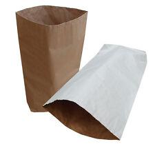 2 x Yuzet White 3 ply paper sack 55 x 85cm 32kg