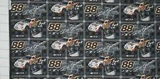 """FABRIC FQ 18"""" X 22 ~ Cotton NASCAR ~ RACE CAR ~ DALE JARRET Quilt ~ OOP 2002"""