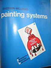 1973 SHERWIN-WILLIAMS PAINT 56 Pages Catalog ASBESTOS Product