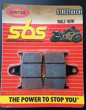 SBS 765 LS Metallo Sinterizzato Pastiglie Dei Freni Suzuki GSX-R 1000, k1-k6, GSX 1400, posteriore