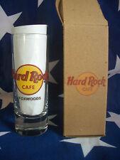 HRC Hard Rock Cafe Foxwoods New Logo Shot Glass Schnapsglas New