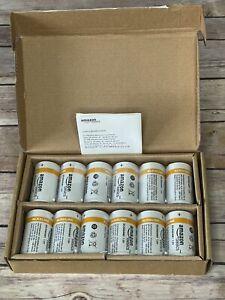 AmazonBasics D Cell 1.5 Volt Everyday Alkaline Batteries - Pack of 12 Exp 10/22