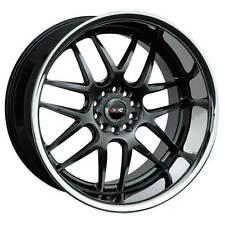 XXR  526  Chromium Black with Stainless Steel Lip  20x9  (+13)  5x114.3/5x120