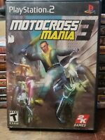 Motocross Mania 3 SONY PLAYSTATION 2 PS2 Game Tested COMPLETE Working