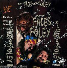 2000 WWF / WWE THREE FACES OF FOLEY (ORIGINAL VCD)