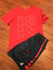 Boys Outfit Size Small, Nike, Blue, Red, Summer, Short Sleeve