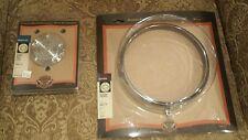 Harley Davidson Headlamp trim Ring  69626-99  & Chrome Billet Timer Chrome 32659