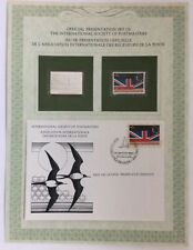 Cocos Islands 45c stamp 1982 Mnh with Silver issue + Fdc British Flag