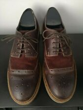 Mens Clarks Brown Leather Brogues - UK 8.5