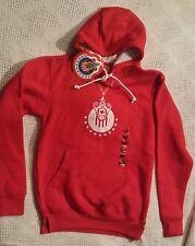 NWT Red Club Deportivo del Guadalajara Chivas Hoodie Sweatshirt Youth Kids Large