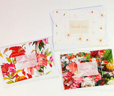 15 Thank You Cards Notes Flower Wedding Business Birthday Thankful Note THANK33