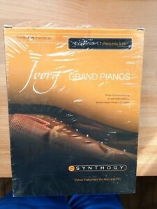 Synthogy Ivory Grand Pianos virtual instruments for Mac and PC