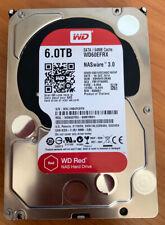 WD RED 6TB, Intern, 5400RPM (WD60EFRX) für NAS, Western Digital (Sektorfehler)