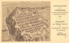 3180 FORTIFICAZIONE DI CHERASCO CUNEO BRIGATA TOSCANA 77 78 REGGIMENTO FANTERIA