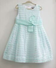 Mayoral Girls Mint Green Spring Easter Formal Wedding Party Dress 5t 110cm EUC