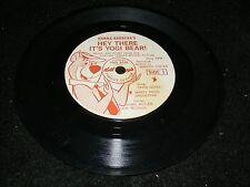 YOGI BEAR 7 in Kellogs Premium EP Record 64 HEY THERE IT'S YOGI BEAR David Gates