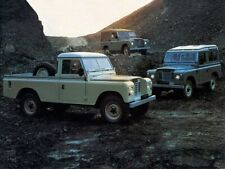 LAND ROVER  SERIES-III '88' & '109' RETRO POSTER BROCHURE CLASSIC ADVERT A3 !