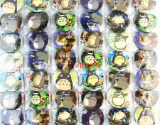 48pcs/lot My Neighbor Totoro Badge,Kid Gift,Cartoon Round Brooch Button Pin/45MM