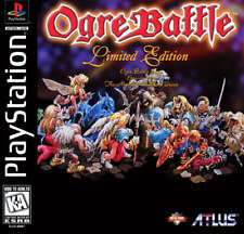 Ogre Battle Limited Edition PS1 Great Condition Fast Shipping