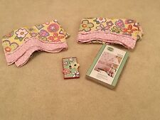 WAVERLY HOME CLASSICS for Kids Flower Patch appliques/valance/light switch LOT