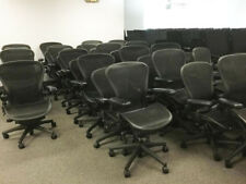50 Herman Miller Aeron Chair Size B Fully Adjustable Local Delivery Ok