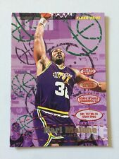 1995 Fleer NBA Basketball Card - Karl Malone #188 Utah Jazz