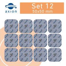 12 Sanitas Elektroden Ersatz von axion passend für SEM 40/42/43/44 Beurer 5x5cm