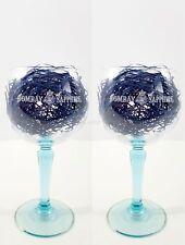 Set of 2 x Bombay Sapphire Balloon Wine Glass Set