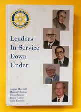 Leaders in Service Down Under, Owen Parnaby, 2000, hard copy, free shipping