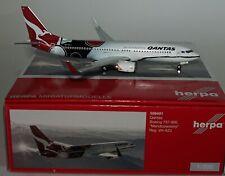 Herpa 556491 Boeing 737-838(WL) Qantas VH-XZJ in 1:200 scale