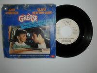 """John Travolta And Olivia Newton-John –Disco Vinile 45 Giri 7"""" Ed.Promo Juke Box"""