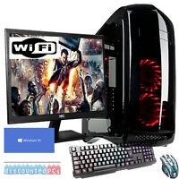 SIX CORE Desktop Gaming PC Computer Bundle  16GB 2TB Windows 10 GTX 1060 6GB