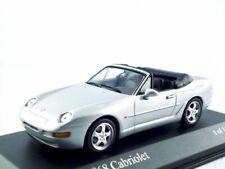 Porsche 968 cabriolet silver 1994 minichamps 400 062332 1/43 grey roadster