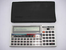 Pocket ordinateur personnel Casio fx-730p avec rp-8, calculator, calculatrice #221