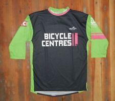 Borah Green/Black Long Sleeve Cycling Shirt Bike Biking Jersey Sz Adult Small