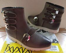 xyxyx  Damen Leder Schuhe Stiefel Stiefeletten Boots Gr. 37 (wie 37,5 - 38)